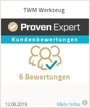 Erfahrungen & Bewertungen zu TWM Werkzeug
