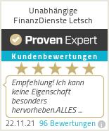 Erfahrungen & Bewertungen zu Unabhängige FinanzDienste