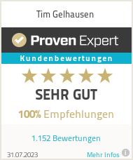 Erfahrungen & Bewertungen zu Tim Gelhausen