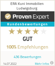Erfahrungen & Bewertungen zu ERA Kuni Immobilien Ludwigsburg
