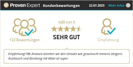 Kundenbewertungen & Erfahrungen zu Amaseo GmbH. Mehr Infos anzeigen.