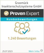 Erfahrungen & Bewertungen zu Grasmück Insektenschutzsysteme GmbH