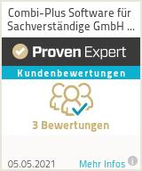 Erfahrungen & Bewertungen zu Combi-Plus Software für Sachverständige GmbH & Co.KG
