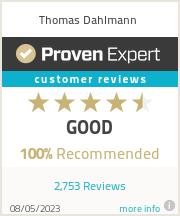 Erfahrungen & Bewertungen zu Thomas Dahlmann