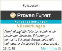 Erfahrungen & Bewertungen zu Felix Jusek