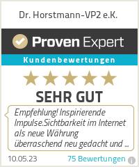 Erfahrungen & Bewertungen zu Dr. Horstmann-VP2 e.K.