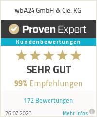 Erfahrungen & Bewertungen zu wbA24 GmbH& Cie. KG
