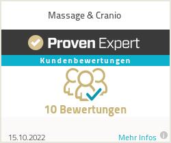 Erfahrungen & Bewertungen zu Massage & Cranio