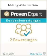 Erfahrungen & Bewertungen zu Making Websites Win