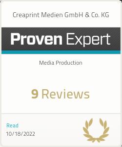 ProvenExpert-Profil von Creaprint Medien GmbH & Co. KG anzeigen