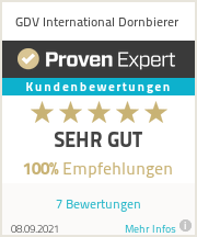 Erfahrungen & Bewertungen zu GDV International Dornbierer