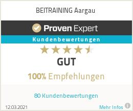 Erfahrungen & Bewertungen zu BEITRAINING Aargau