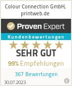 Erfahrungen & Bewertungen zu Colour Connection GmbH, printweb.de