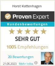 Erfahrungen & Bewertungen zu Horst Kottenhagen
