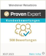 Erfahrungen & Bewertungen zu Wendener Reisebüro