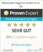 Erfahrungen & Bewertungen zu Matuszak-Hygiene GmbH & Co. KG
