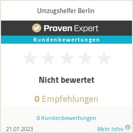 Erfahrungen & Bewertungen zu Umzugshelfer Berlin