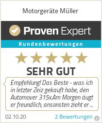 Erfahrungen & Bewertungen zu Motorgeräte Müller