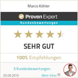 Erfahrungen & Bewertungen zu Marco Köhler