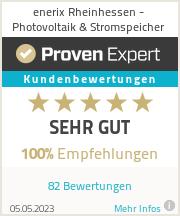 Erfahrungen & Bewertungen zu enerix Rheinhessen