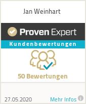 Erfahrungen & Bewertungen zu Jan Weinhart