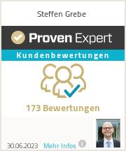Erfahrungen & Bewertungen zu Steffen Grebe