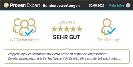 Erfahrungen & Bewertungen zu Steffen Grebe anzeigen
