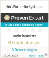 Erfahrungen & Bewertungen zu HörWurm HörSysteme