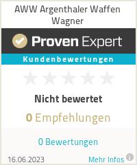 Erfahrungen & Bewertungen zu Waffen Wagner
