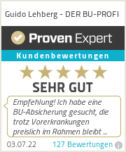 Erfahrungen & Bewertungen zu Guido Lehberg - DER BU-PROFI