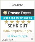 Erfahrungen & Bewertungen zu Bodo Bahn