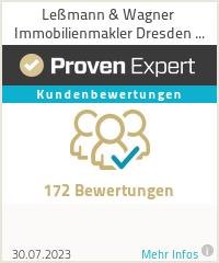 Erfahrungen & Bewertungen zu Leßmann & Wagner Immobilienmakler Dresden GmbH