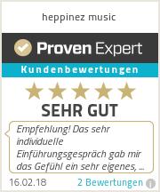 Erfahrungen & Bewertungen zu heppinez music