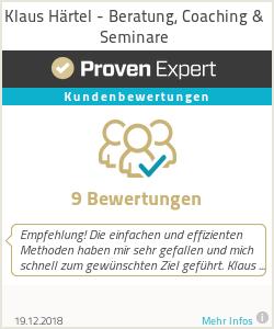 Erfahrungen & Bewertungen zu Klaus Härtel - Beratung, Coaching & Seminare