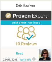 Ratings & reviews for Deb Hawken