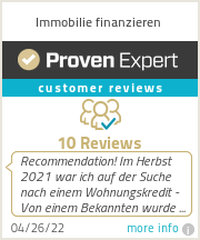 Ratings & reviews for Immobilie finanzieren
