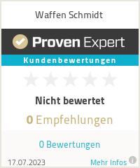 Erfahrungen & Bewertungen zu Waffen Schmidt
