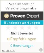 Erfahrungen & Bewertungen zu Sven Nebenführ Versicherungsmakler