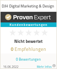 Erfahrungen & Bewertungen zu DJH Digital Marketing & Design