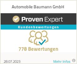 Erfahrungen & Bewertungen zu Automobile Baumann GmbH