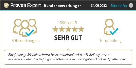 Kundenbewertungen & Erfahrungen zu HEYLIGHT media | Sascha Heydorn. Mehr Infos anzeigen.