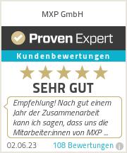 Erfahrungen & Bewertungen zu MXP GmbH
