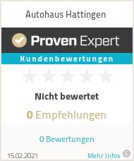 Erfahrungen & Bewertungen zu Autohaus Hattingen