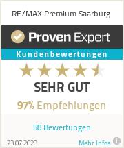 Erfahrungen & Bewertungen zu RE/MAX Premium Saarburg