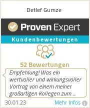 Erfahrungen & Bewertungen zu Detlef Gumze