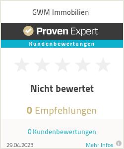 Erfahrungen & Bewertungen zu GWM Immobilien
