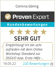 Erfahrungen & Bewertungen zu Corinna Göring