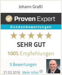 Erfahrungen & Bewertungen zu Johann Graßl