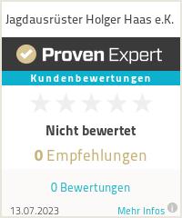 Erfahrungen & Bewertungen zu Jagdausrüster Holger Haas e.K.