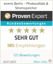 Erfahrungen & Bewertungen zu enerix Berlin - Photovoltaik & Stromspeicher